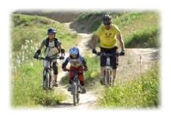 mountain biking for all the family
